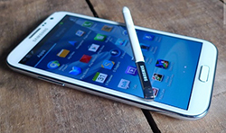 Note II phone