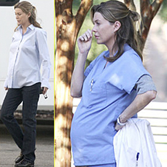 Meredith pregnant
